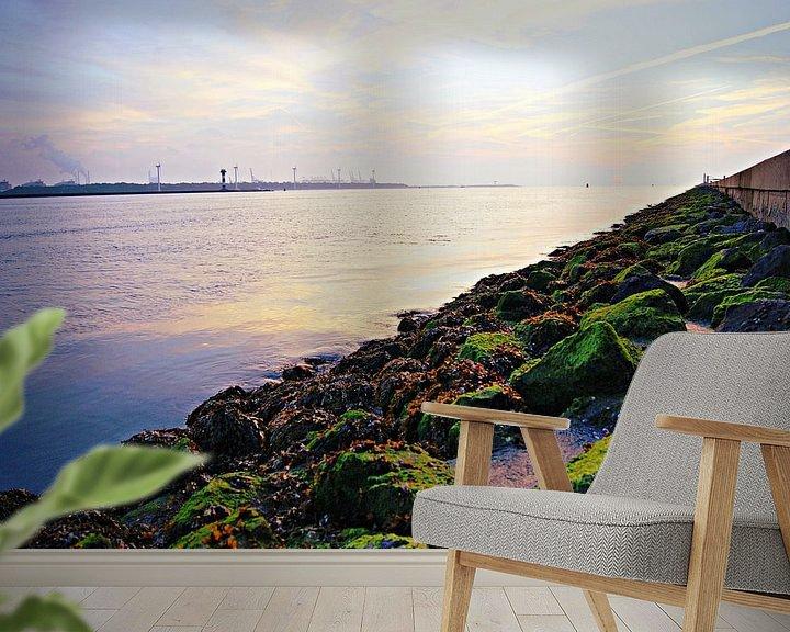 Sfeerimpressie behang: Along the Coast van Remy De Milde