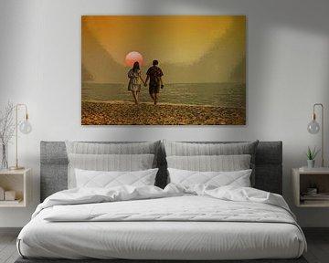 Liebe liegt in der Luft von Frans Van der Kuil