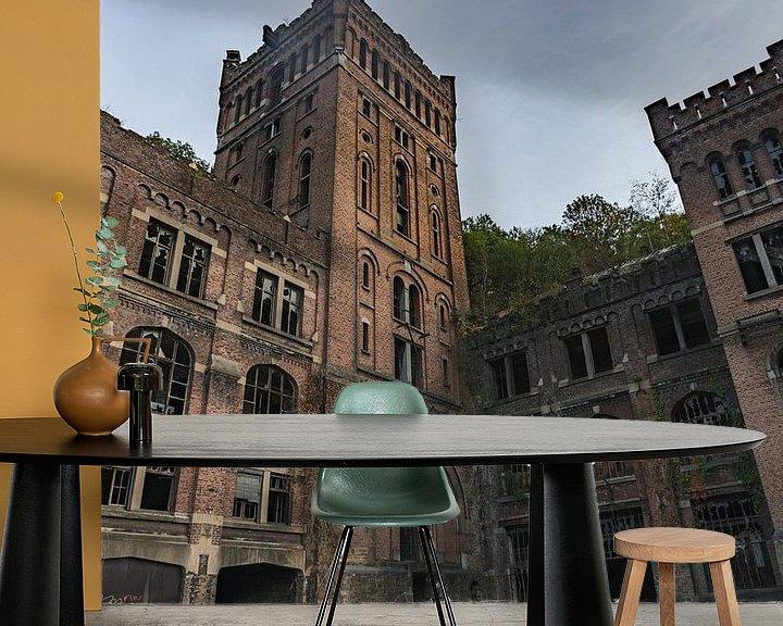 Beispiel fototapete: Urbex kasteel von Jacco van der Giessen
