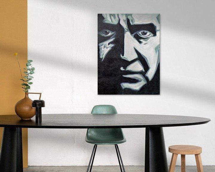 Sfeerimpressie: Johny Cash van Jan Wiersma