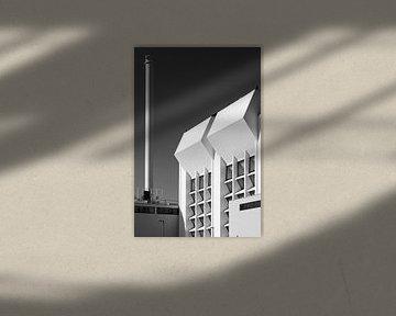 Architektur in schwarz und weiß von Raoul Suermondt