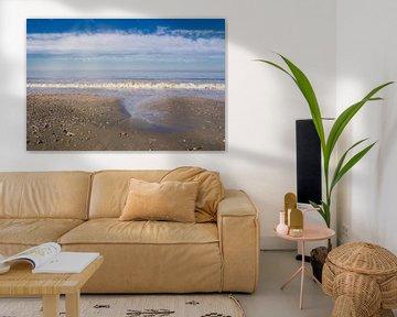 Het strand, noordzee van Wendy Tellier - Vastenhouw