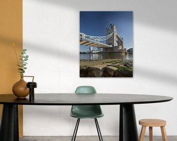Tower Bridge - Londen van David Bleeker