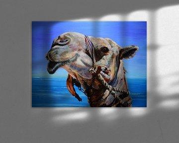 """chameau ...navire du désert sur Janny Schilderink......Atelier """"de Tuute """""""