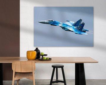 "Sukhoi Su-27 ""Flanker"" (Flanc) sur Kris Christiaens"