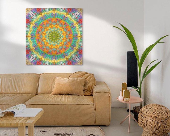 Sfeerimpressie: Mandala Style 83 van Marion Tenbergen