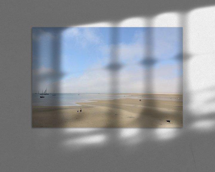 Beispiel: Ebbe an der Küste von Terschelling von Ellinor Creation