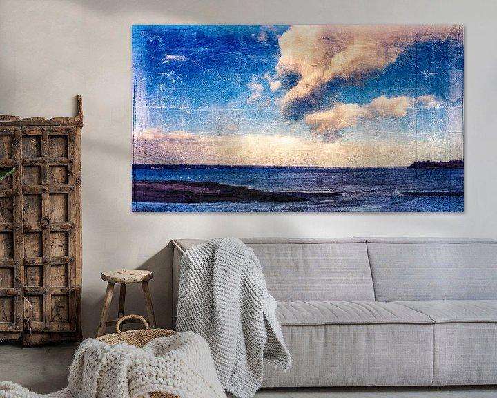 Beispiel: Wolken und MeerBlau von Heiko Westphalen