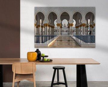 Grand Mosque Sheikh Zayed von Bart Hendrix