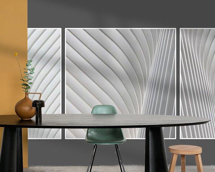 Sfeerimpressie behang: Oculus Drieluik van Adelheid Smitt