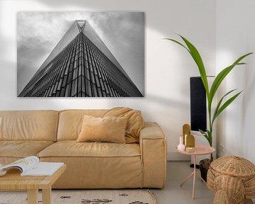 Freedom Tower im Nebel von Adelheid Smitt