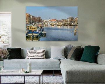 Amstel rivier van Gerrit Kuyvenhoven