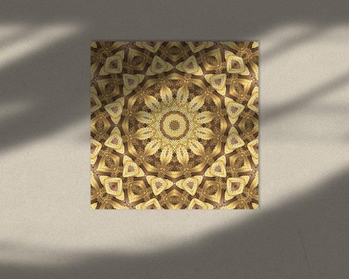 Sfeerimpressie: Mandala goud van Marion Tenbergen