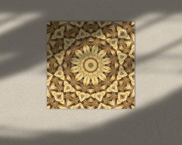 Mandala goud