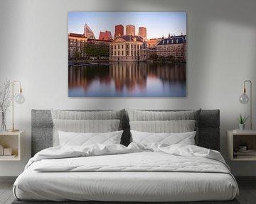 De Hofvijver en het Mauritshuis von Claudio Duarte