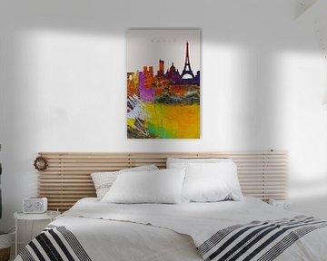 Paris auf einen Blick von Harry Hadders