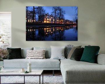 De Maliesingel ter hoogte van Zonnenburg in Utrecht (1) von Donker Utrecht