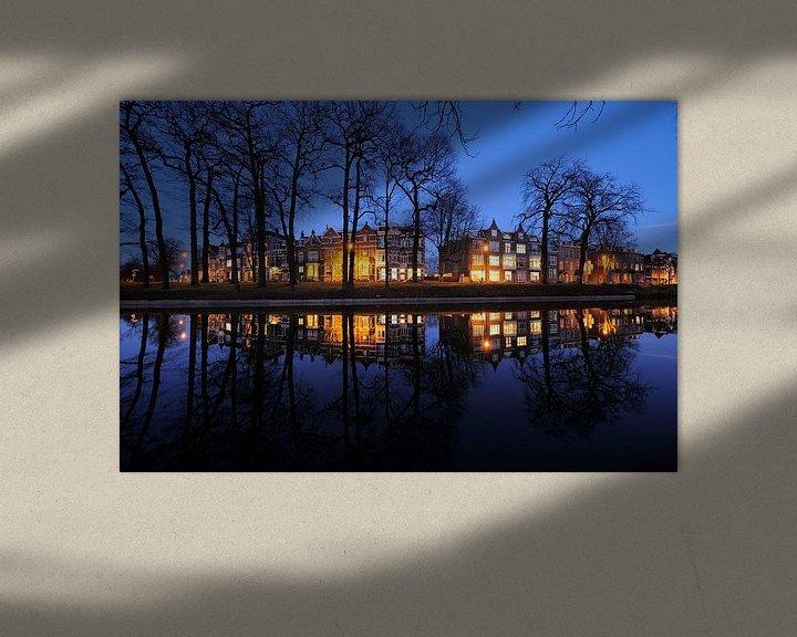 Sfeerimpressie: De Maliesingel ter hoogte van Zonnenburg in Utrecht (2) van Donker Utrecht