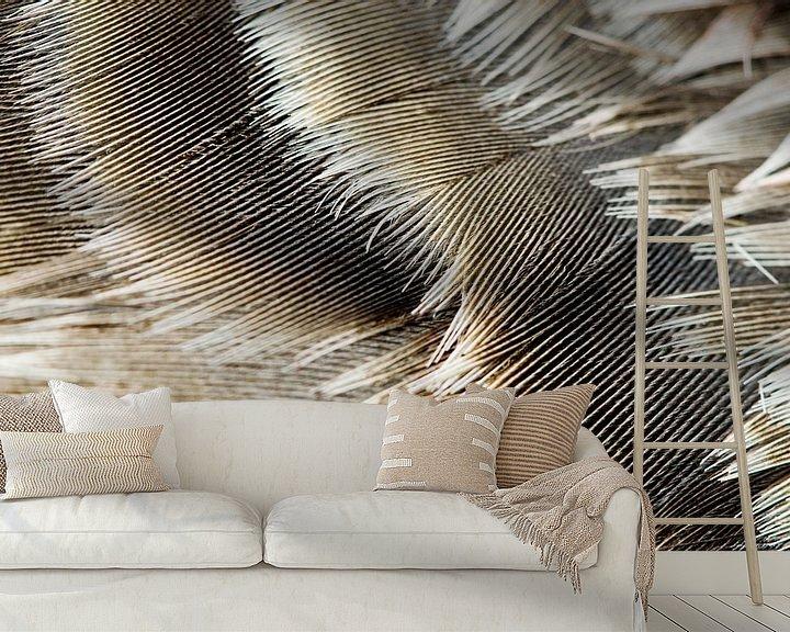 Sfeerimpressie behang: Ganzenveren van Margo Schoote