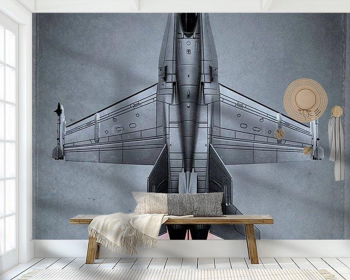 Beispiel fototapete: Düsenjäger - McDonnell Douglas Hornet von Stefan Witte
