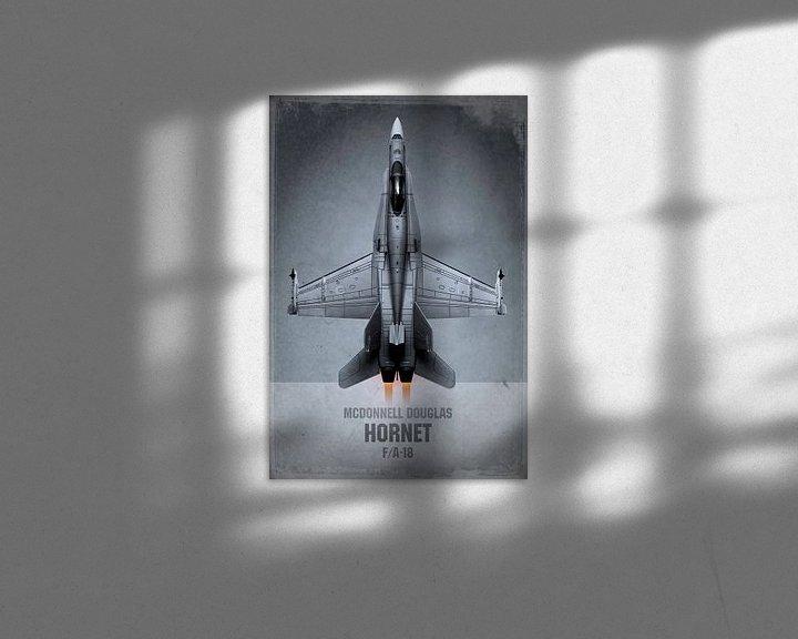 Beispiel: Düsenjäger - McDonnell Douglas Hornet von Stefan Witte