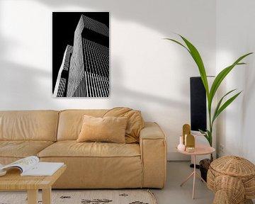 Rotterdam Architectuur in zwartwit. De Rotterdam van Rem Koolhaas van Marianne van der Zee