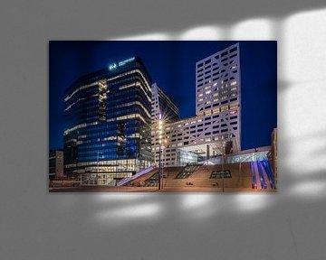 Le WTC Utrecht et le bureau de la ville d'Utrecht se trouvent juste à côté de la gare centrale d'Utr