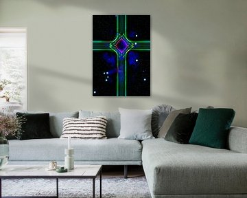 Grünes Kreuz von Leopold Brix