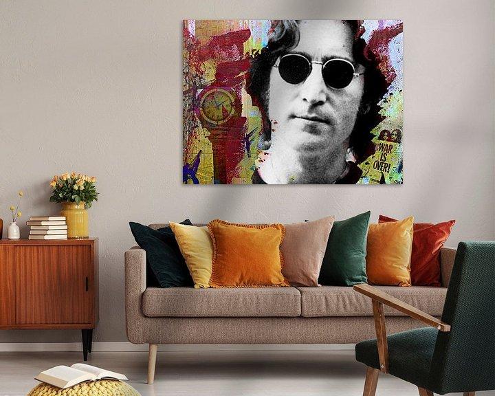 Impression: John Lennon War is over sur PictureWork - Digital artist