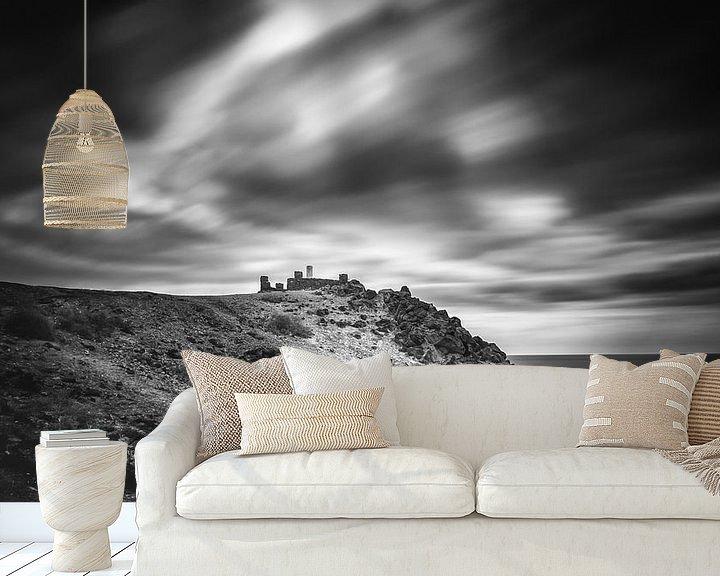 Sfeerimpressie behang: The watch tower van Robert Stienstra