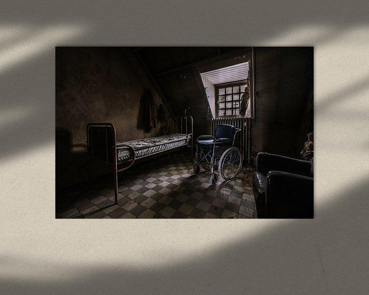 Beispiel: verlassen psychiatrisches Krankenhaus von Katjang Multimedia