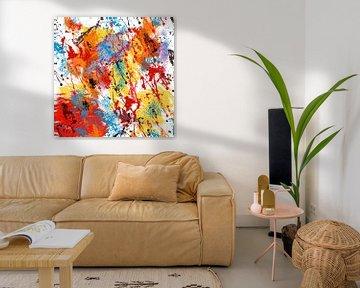 Abstrakt Farbenfroh von Violetta Honkisz