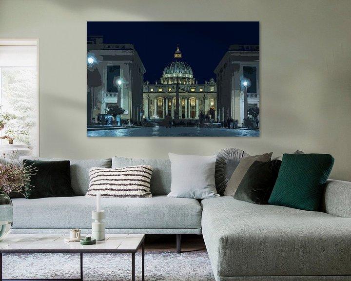 Impression: Sint Pieter Vaticaanstad sur Peter Moerman