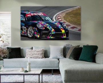 Porsche 911 GT3  op circuit Zandvoort. sur Frank Van der Werff