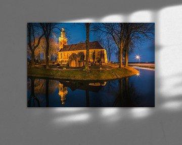Hervormde Kerk, Tjamsweer, Groningen, Nederland van Henk Meijer Photography