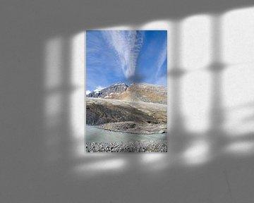 Ub  to the Sky in Icefield Parkway van Karin Hendriks Fotografie