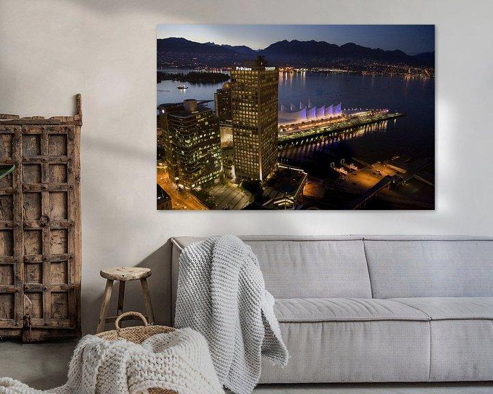 Sfeerimpressie: Skyline of Vancouver  van Karin Hendriks Fotografie