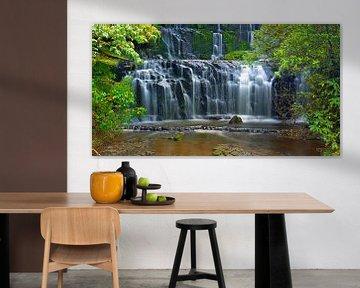 Purakaunui Falls, Catlins, Südinsel, Neuseeland