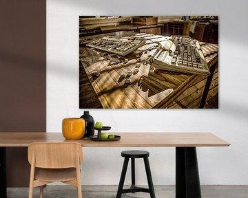 Oldschool keyboards van SER Sanierung im Erd- und Rückbau GmbH