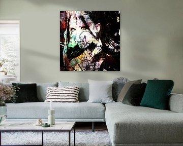 Streetart woman van PictureWork - Digital artist