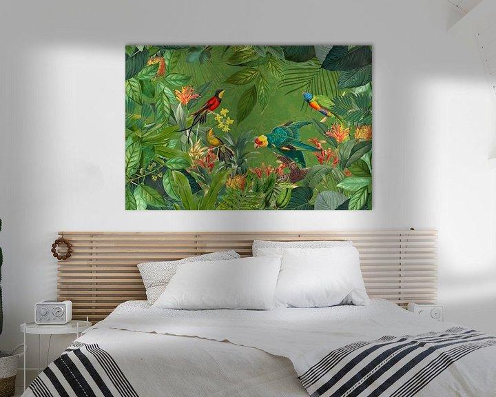 Sfeerimpressie: Exotic Birds In Tropical Paradise van Andrea Haase