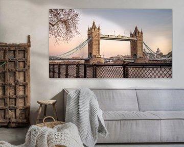 Tower Bridge, Londen, UK van Lorena Cirstea
