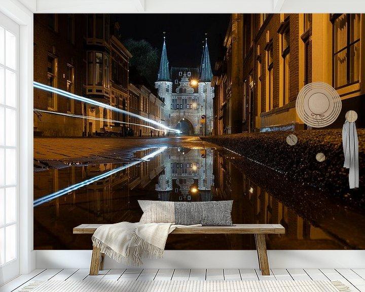 Sfeerimpressie behang: Kampen twin tower van Jan Roelof Brinksma