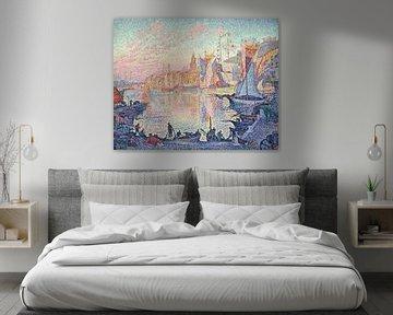 Der Hafen von Saint-Tropez, Paul Signac