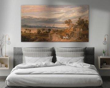 Landschaft mit Hütten, James Ward