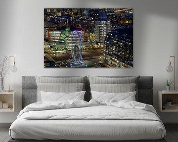 Prachtige blik op Blaak - Rotterdam von Roy Poots