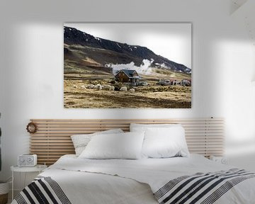 Living on hot boiling water, IJsland van Karin Hendriks Fotografie