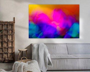 Bloemen-abstract von Paul Roholl