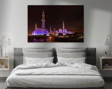 Sheikh Zayed moskee van Antwan Janssen