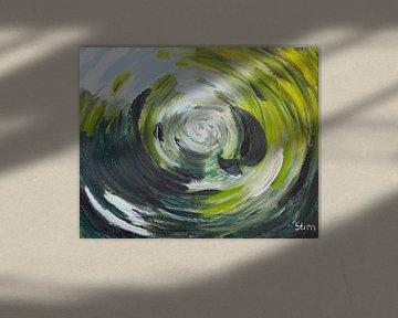 Storm in een glas water von Stien Art